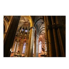 Church - Barcelona Spain Postcards (Package of 8)