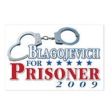 Blagojevich for Prisoner! Postcards (Package of 8)