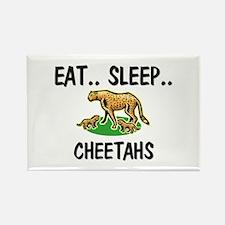 Eat ... Sleep ... CHEETAHS Rectangle Magnet