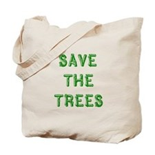 Save the Trees Tote