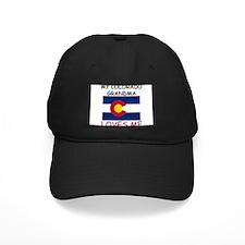 My Colorado Grandma Loves Me Baseball Hat