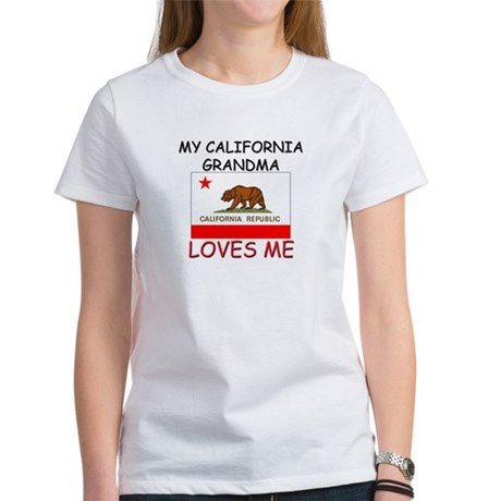 My California Grandma Loves Me Women's T-Shirt