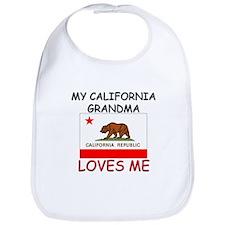 My California Grandma Loves Me Bib