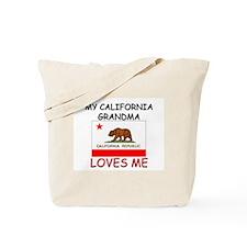 My California Grandma Loves Me Tote Bag