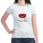 Vampire Lover Jr. Ringer T-Shirt
