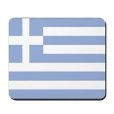 Greek Flag Mousepad