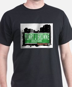 HENRY J BROWNE BOULEVARD, MANHATTAN, NYC T-Shirt