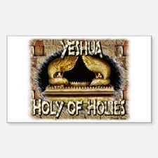 Holy of Holies! Rectangle Decal