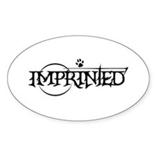 Imprinted Oval Decal
