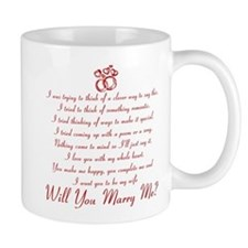 Will You Marry Me? Small Mugs