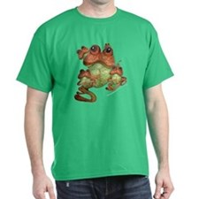 Frog Family Portrait T-Shirt