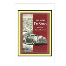 """1947 DeSoto Ad"" Postcards (Package of 8)"