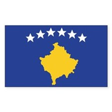 Kosovo Rectangle Decal