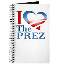 I Heart The Prez Journal
