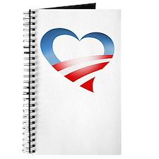 Obama Valentine Heart Journal