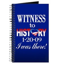 Witness to History Journal (navy)