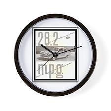 """""""1953 Henry J Ad"""" Wall Clock"""