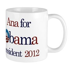 Ana for Obama 2012 Mug