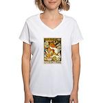L'Ermitage Women's V-Neck T-Shirt