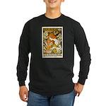 L'Ermitage Long Sleeve Dark T-Shirt