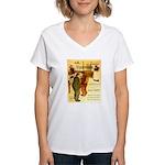 l'Escarmouche Women's V-Neck T-Shirt