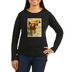 l'Escarmouche Women's Long Sleeve Dark T-Shirt