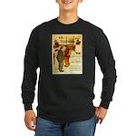 l'Escarmouche Long Sleeve Dark T-Shirt