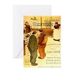 l'Escarmouche Greeting Cards (Pk of 20)