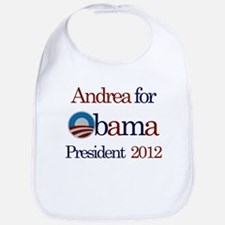 Andrea for Obama 2012 Bib