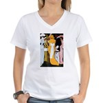 Party Women's V-Neck T-Shirt