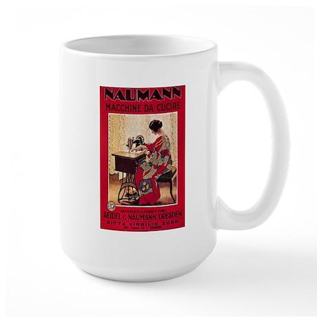 Naumann Sewing Large Mug