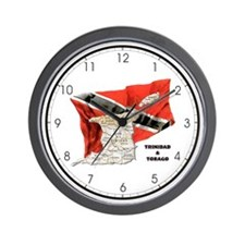 T&T Wall Clock