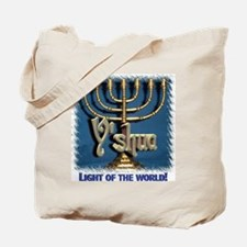 Y'shua, Light of the World! Tote Bag