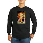Salon des Cent II Long Sleeve Dark T-Shirt