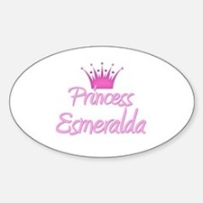 Princess Esmeralda Oval Decal