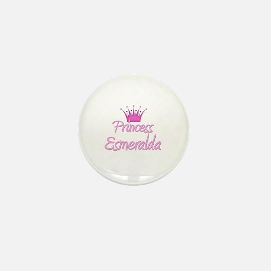 Princess Esmeralda Mini Button