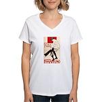 Femminismo Women's V-Neck T-Shirt