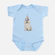 Bichon Frise Party Infant Bodysuit