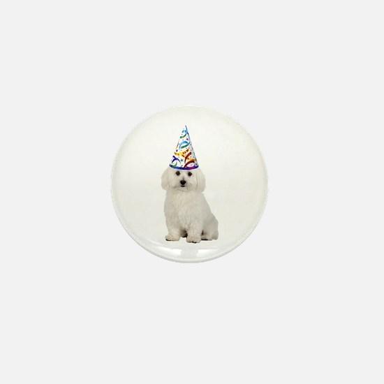 Bichon Frise Party Mini Button