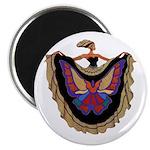 """""""Le Papillion"""" Round Magnet"""