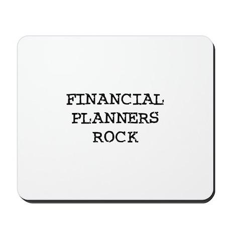 FINANCIAL PLANNERS ROCK Mousepad