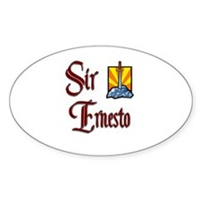 Sir Ernesto Oval Decal