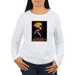 Cognac Monnet Women's Long Sleeve T-Shirt
