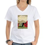 Grand Parisy Women's V-Neck T-Shirt