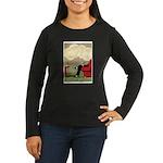 Grand Parisy Women's Long Sleeve Dark T-Shirt