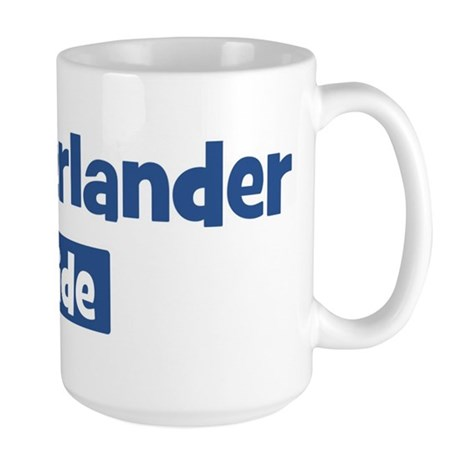 Munsterlander pride Large Mug