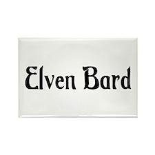 Elven Bard Rectangle Magnet