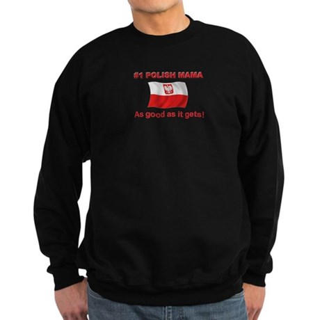 Polish Mama Sweatshirt (dark)