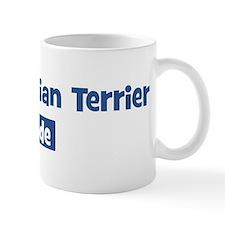 Black Russian Terrier pride Mug