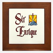Sir Enrique Framed Tile